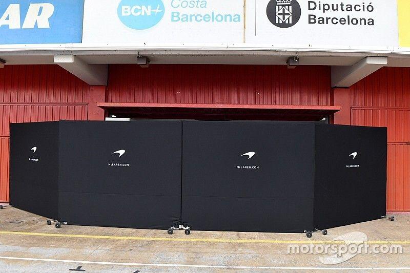 Los equipos no podrán ocultar sus coches durante los test de F1