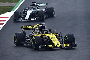 Formula 1 Testing report Hulkenberg leads Bottas on final morning of first test