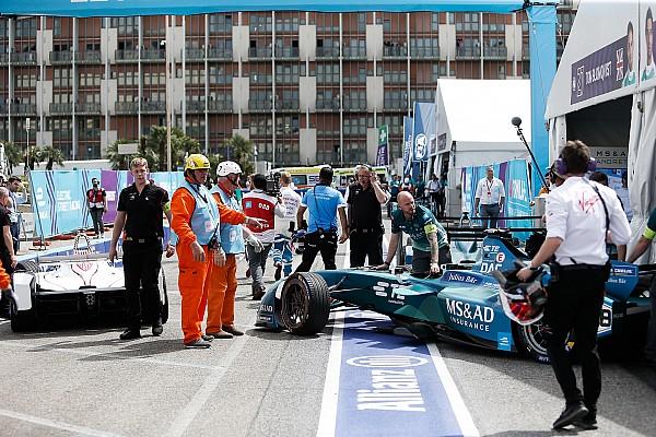 Da Costa penalised for Rome pitlane crash