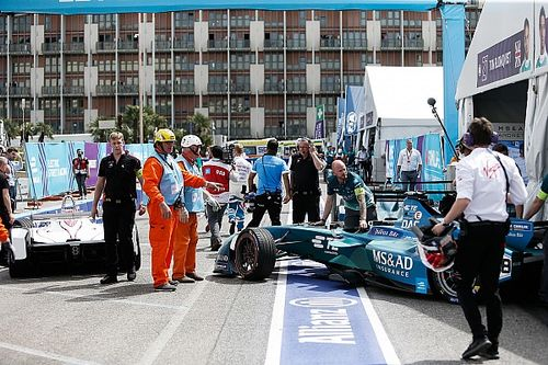 Da Costa penalised for Rome pitlane crash
