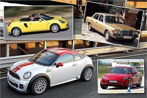 Die coolsten Autos unter 10.000 Euro