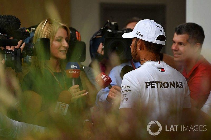 """Hamilton: """"No tengo prisa en firmar mi renovación"""""""