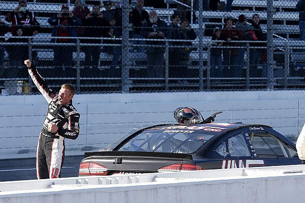 Clint Bowyer in elite (winning) company at Stewart-Haas Racing