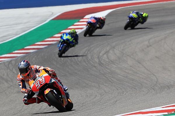 MotoGP 速報ニュース ロッシ、フロントタイヤに問題を抱え表彰台争えず。ホンダの強さも懸念