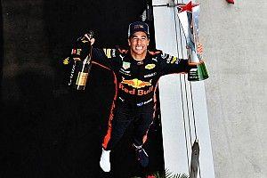 Díszes társasághoz csatlakozott Ricciardo a győzelmével a Forma-1-ben
