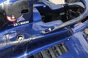 Halo в действии: фотографии последствий аварии в гонке Формулы 2