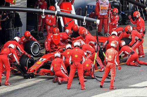 """Wolff diz """"entender totalmente"""" tática da Ferrari na Espanha"""