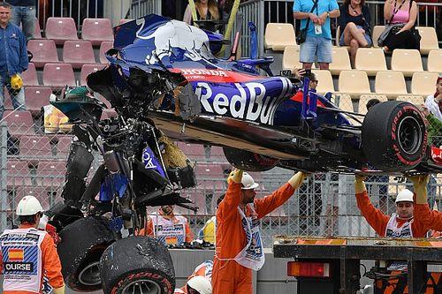 Toro Rosso no pudo salvar el motor de Hartley tras el accidente