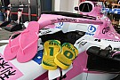 Formula 1 Halo Force India disponsori sandal jepit Havaianas