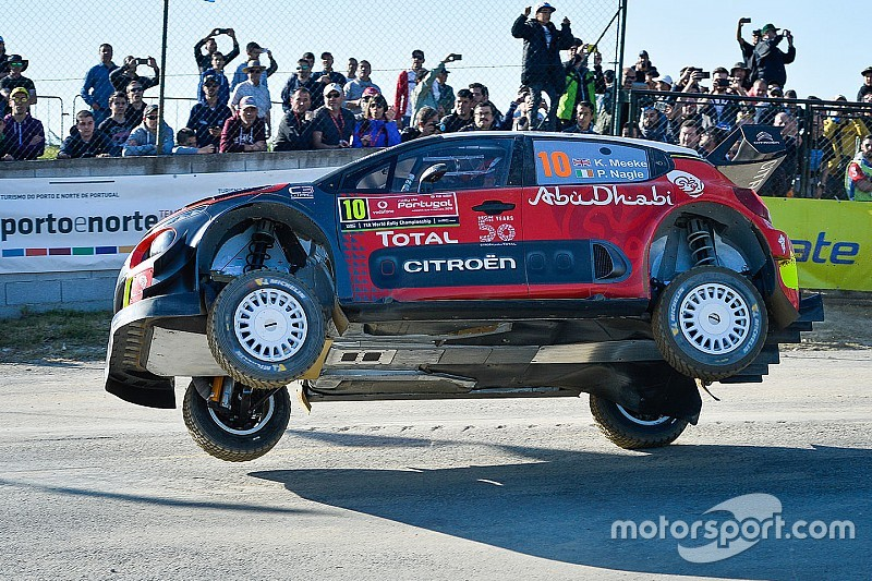 "Citroen says Meeke was ""not under control"""