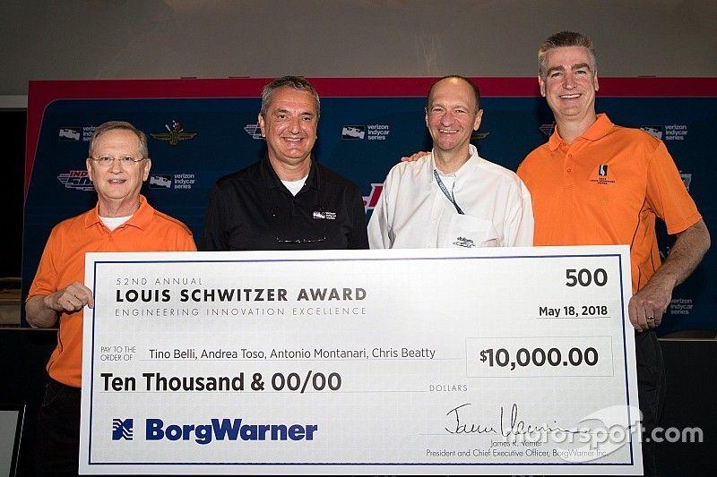 Premio Louis Schwitzer a Toso e Montanari di Dallara Automobili