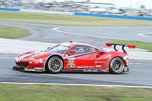 Ferrari 488 GTE performs in debut race at Daytona