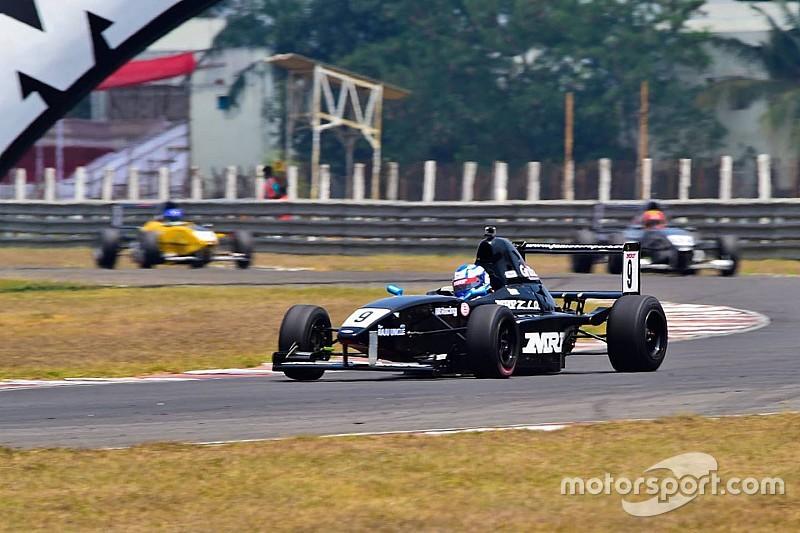 Chennai II MRF F1600: Anand dominates third race