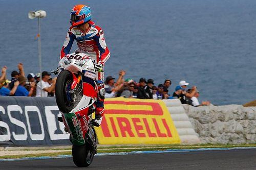 Van der Mark partagé entre son désir de victoire et l'attrait du MotoGP