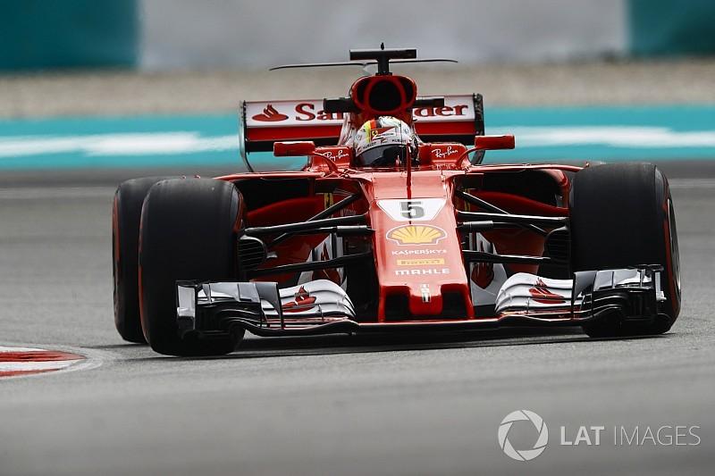 "Formel 1 2017: Sebastian Vettel ""Fahrer des Tages"" in Malaysia"