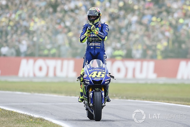 Assen, dernier GP remporté il y a un an par Rossi et Yamaha