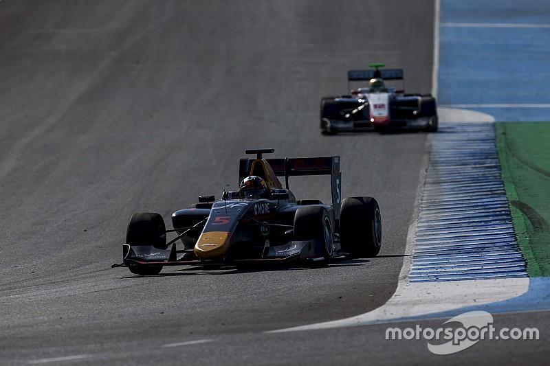 Kari loses podium over clash with fellow Red Bull junior