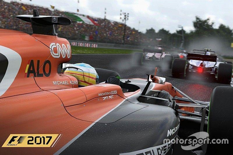 El 'F1 2017' introduce las decoraciones actualizadas