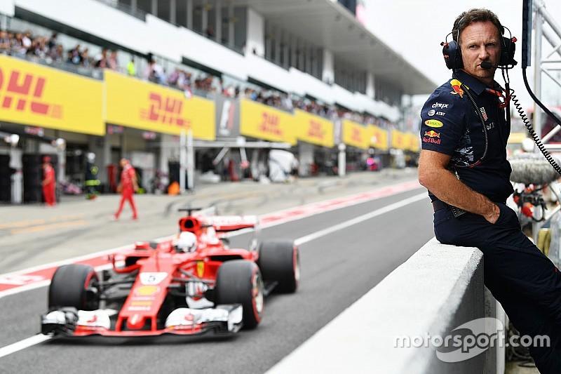 """Horner: Vettel gagal finis, """"pukulan telak"""" bagi fans F1"""