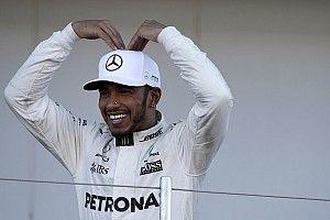 "Hamilton, sobre vantagem no campeonato: ""Só nos sonhos"""