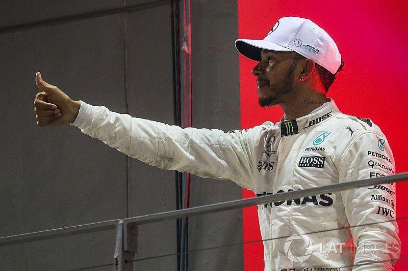 Hamilton ne chasse pas le record de titres de Schumacher