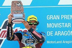 Morbidelli puas dengan kemenangan di Aragon