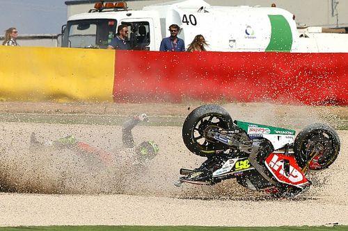 Statistik kecelakaan pembalap MotoGP 2017