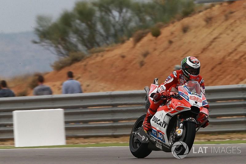 """Lorenzo: """"Con la Yamaha non avevo lo stesso feeling sul bagnato"""""""