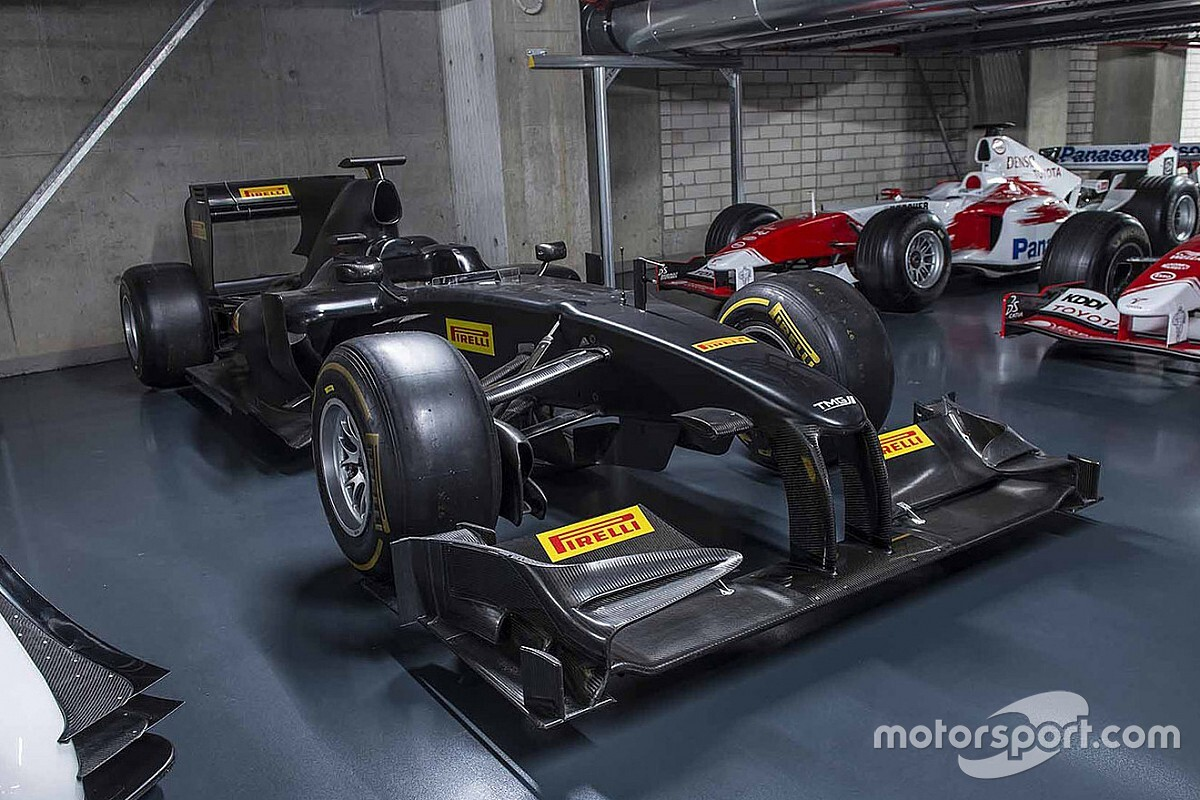 Toyota donates last F1 car to COVID-19 charity auction