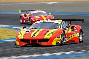 Ferrari's newest factory driver on the Asian Le Mans Series
