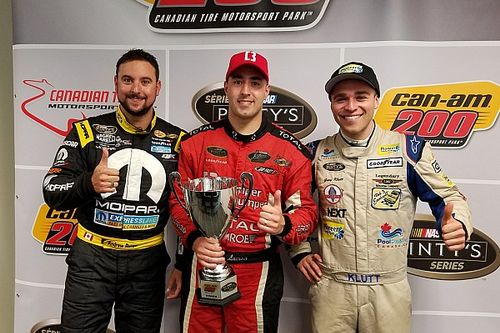 Kevin Lacroix survives late restart to win Can-Am 200