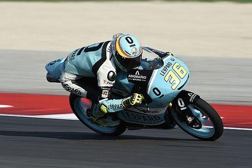 Mir het snelst op opdrogende baan in tweede training GP Aragon
