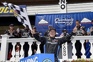 NASCAR Truck Race report Christopher Bell takes Pocono Truck win; Kyle Busch crashes out
