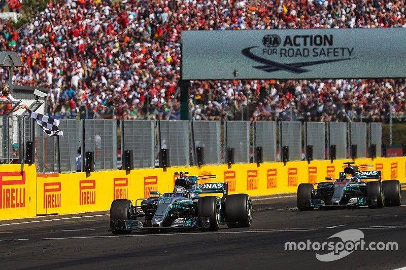 Mercedes espera no arrepentirse de ceder el podio a Bottas
