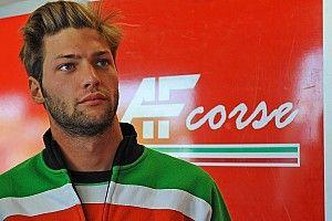Giorgio Roda al Montmelò con la Lamborghini di Grasser Racing