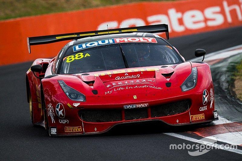 Экипаж Ferrari выиграл «12 часов Батерста»