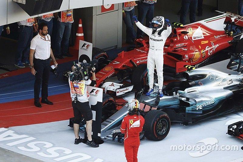 Bottas boekt in Rusland eerste F1-zege, Verstappen vijfde