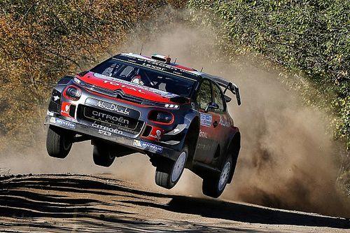 Four Citroën C3 WRCs line up for Rally de Portugal