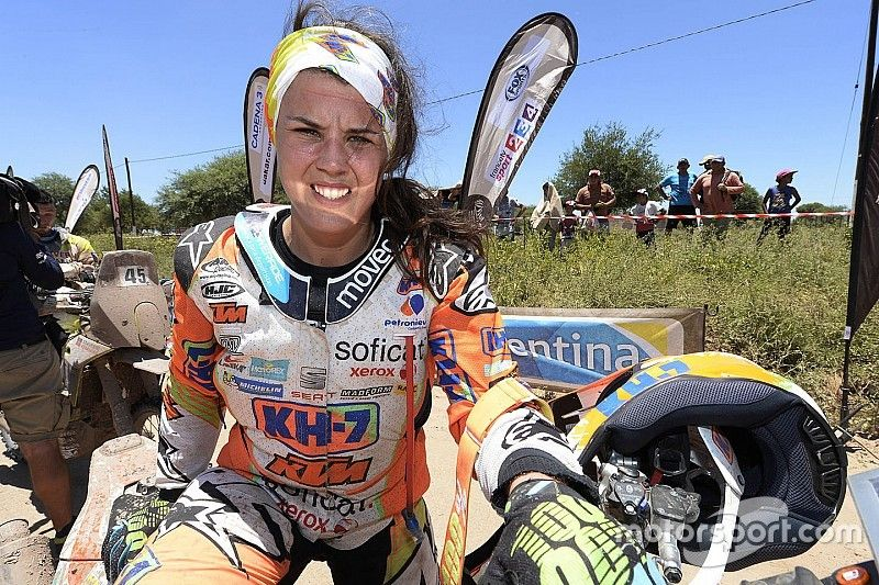 """Sanz reveals """"rage"""" after being led astray by Dakar rival"""