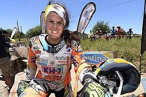 "Sanz reveals ""rage"" after being led astray by Dakar rival"