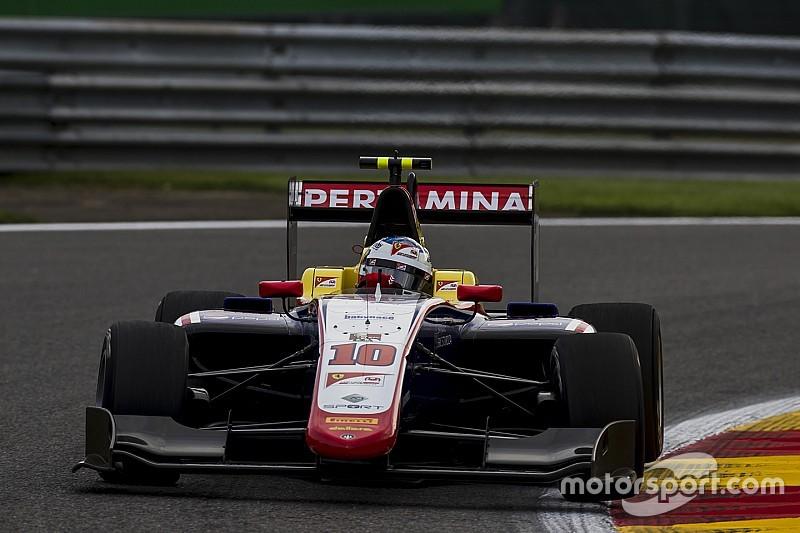 GP3 Spa: Derde opeenvolgende sprintzege voor Alesi