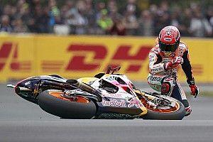 "Morbidelli: Marquez has taught us ""crashing is the way"""