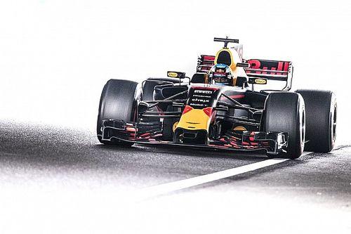 """Ricciardo tevreden: """"Relatief dicht achter Mercedes en Ferrari"""""""