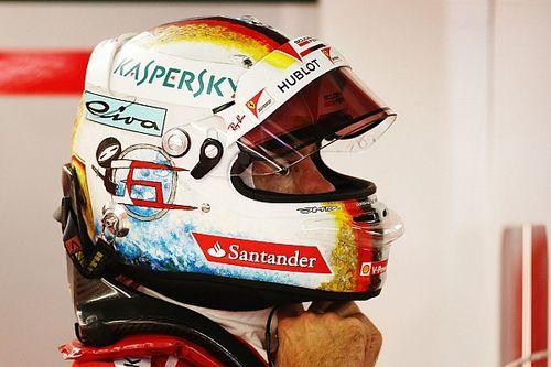 Gallery: Vettel's new helmet design for the Japanese Grand Prix