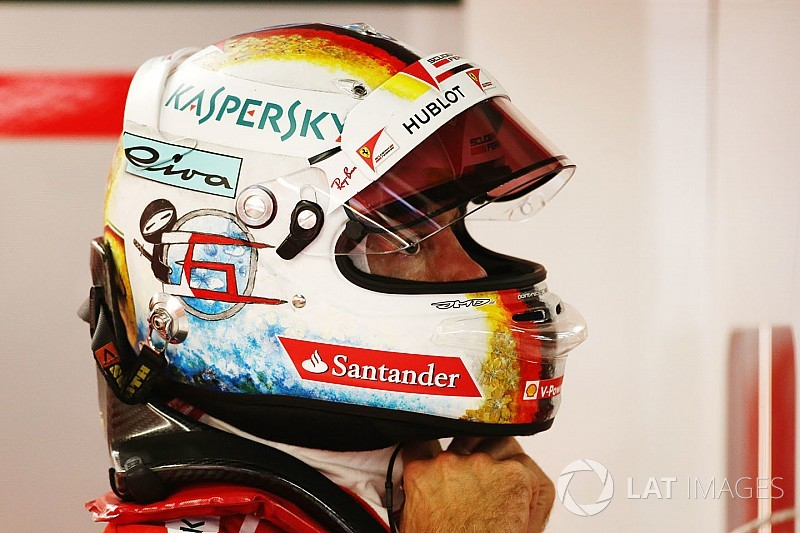 Gallery: Vettel's new helmet design for the Japanese Grand Prix