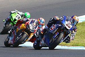 """Van der Mark put moed uit verbetering op zondag: """"Veel geleerd over de Yamaha"""""""
