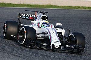 Williams e Haas adicionam asas em T aos carros