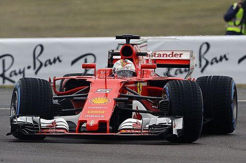 Sebastian Vettel dreht erste Runden im neuen Ferrari SF70H
