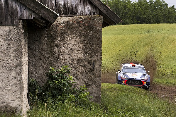 Sordo se queda a las puertas del podio en un complicado Rally de Polonia