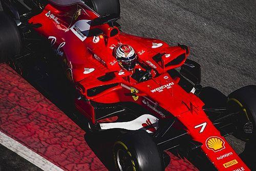 Barcelona F1 test: Raikkonen tops final day of first week